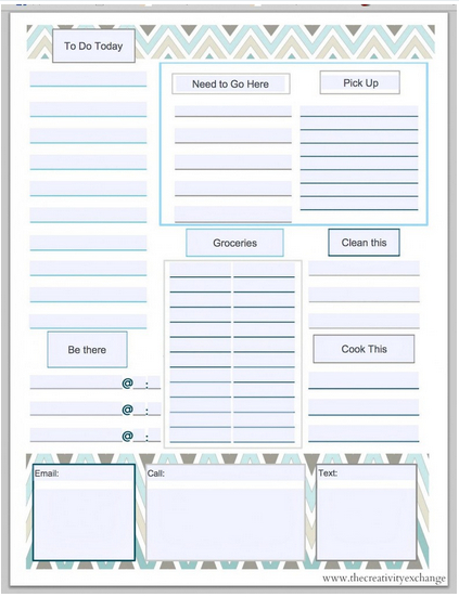 10 MORE Free Printable Daily Planners | Contented at Home