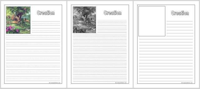 Creation Notebooking Set
