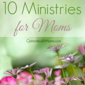 10 Ministries for Moms