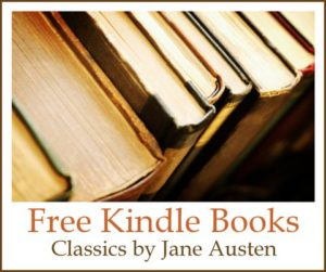 Free Kindle Books: Classics by Jane Austen