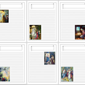 Birth of Christ Notebooking Pages