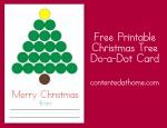Christmas Tree Do-a-Dot Card