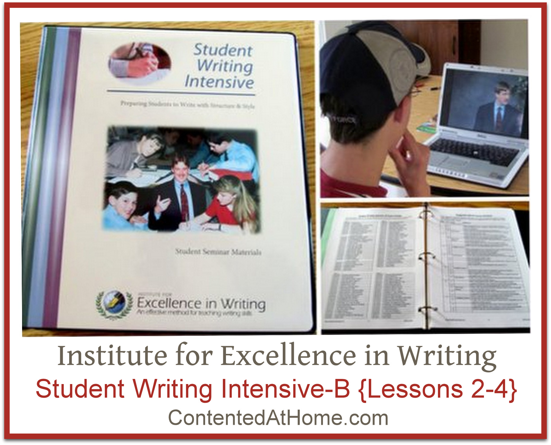 institute of excellence in writing Welcome to excellence in writing if you are looking for a way to excite your students about writing, you have come to the right place our mission is to equip.