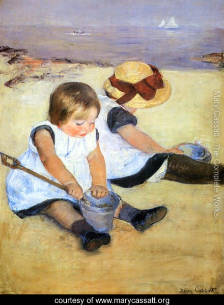 Children-Playing-On-The-Beach