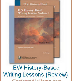 IEW History-Based Writing Lessons