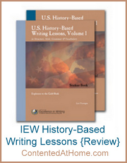 U.S. History-Based Writing Lessons from IEW