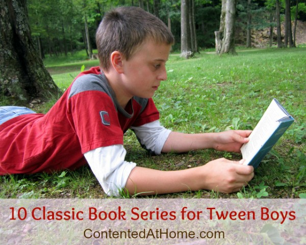 10 Classic Book Series for Tween Boys