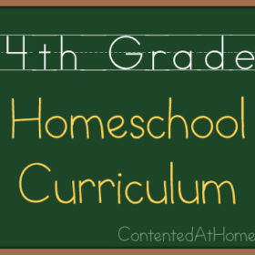 Fourth Grade Homeschool Curriculum {2013-2014}