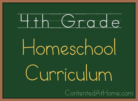 Fourth Grade Homeschool Curriculum