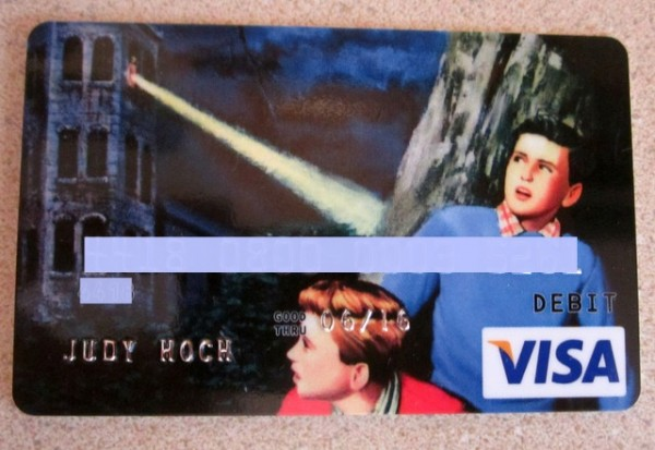 Hardy Boys Visa Card
