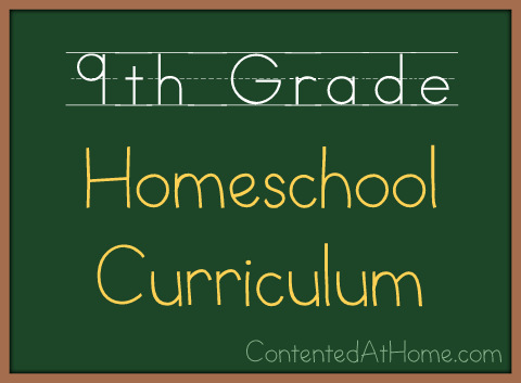 Ninth Grade Homeschool Curriculum