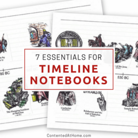 7 Essential Supplies for Timeline Notebooks