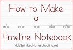 Making a Timeline Notebook