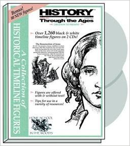 Cover of History Through the Ages Timeline Figures CD