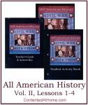 All American History Vol. II: Lessons 1-4