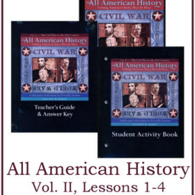 All American History Vol. II: Lessons 1-4