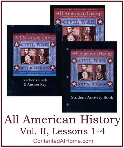 All American History Vol. II, Lessons 1-4 | @brightideasteam