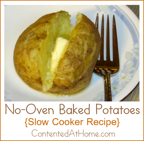 No-Oven Baked Potatoes