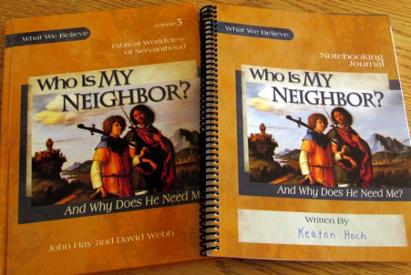 Who Is My Neighbor -worldview curriculum from Apologia