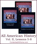 All American History Vol. II Lessons 5-8