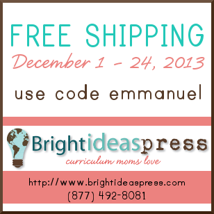 Free shipping on any order of $30 or more from Bright Ideas Press!