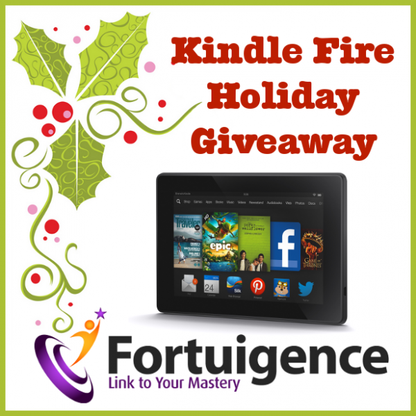 Enter to win a FREE Kindle Fire from Fortuigence!