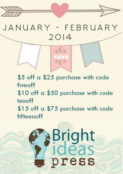Bright Ideas Press Coupon February 2014