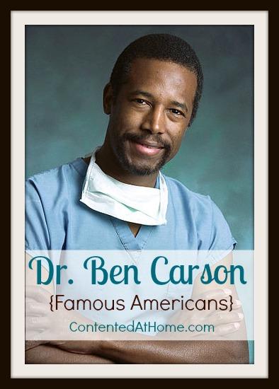 Dr. Ben Carson unit study resources
