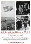 All American History Vol. II: Lessons 21-24