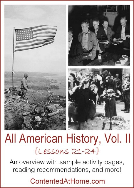 All American History Vol. II: Lessons 21-24