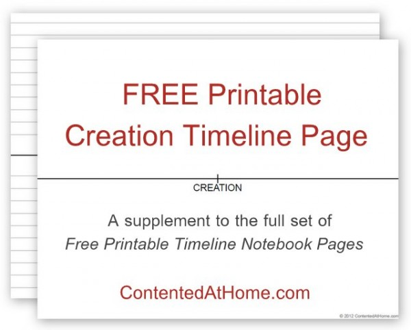 image about Timeline Printable referred to as No cost Printable Generation Timeline Web page Happy at Dwelling