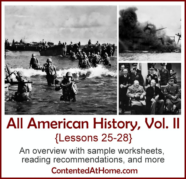 All American History Vol. II: Lessons 25-28