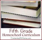 Fifth Grade Homeschool Curriculum {2014-2015}