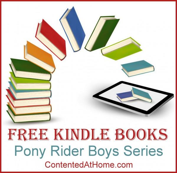 Free Kindle Books: Pony Rider Boys Series