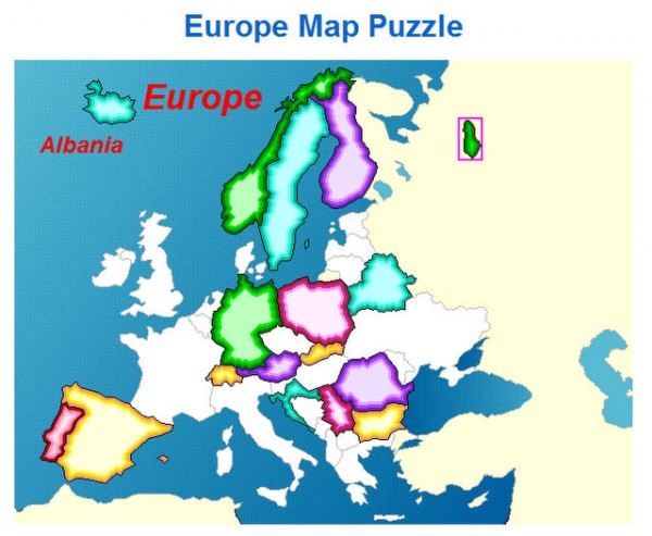 Free online map puzzles for high school geography
