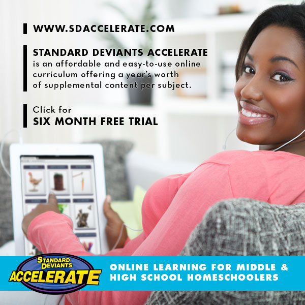 FREE six month trial from Standard Deviants Accelerate!