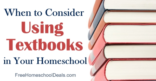 When to Consider Using Textbooks