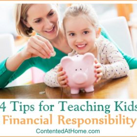 4 Tips for Teaching Your Kids Financial Responsibility