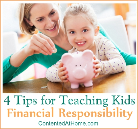 4 Tips for Teaching Kids Financial Responsibility