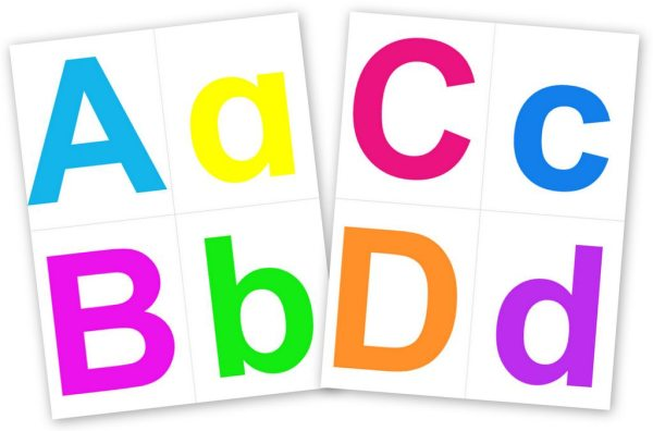 graphic regarding Printable Lettering Free named Printable Alphabet Letters Pleased at Residence
