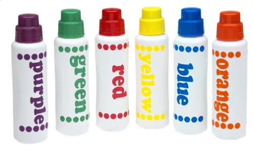 Do-a-dot markers to use with free preschool printables