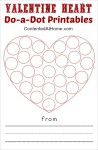 Valentine Heart Do-a-Dot Printables