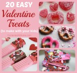 20 Easy Valentine Treats to Make with Kids