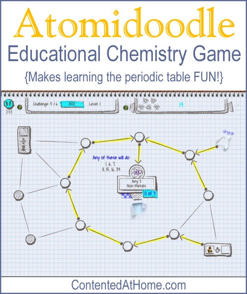 Atomidoodle: Educational Chemistry Game