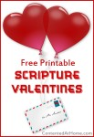 Free Printable Scripture Valentines for Kids