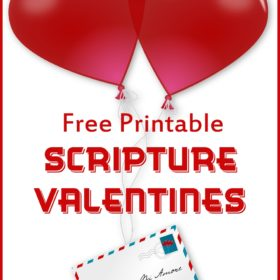 Free Printable Scripture Valentines for Kids