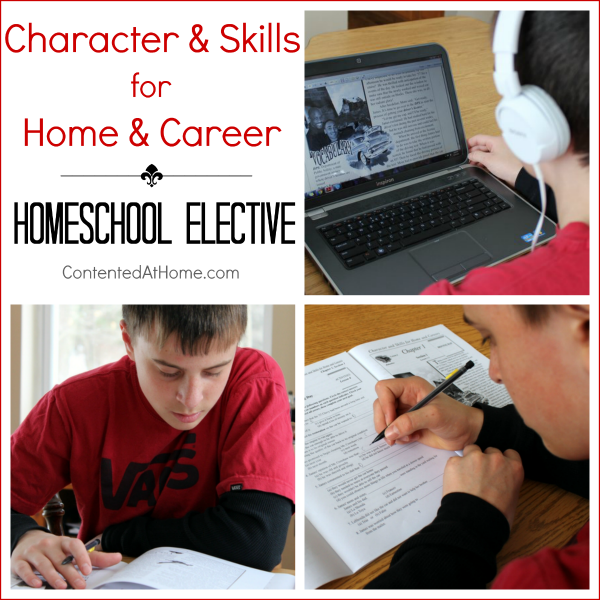Homeschool Elective: Character and Skills for Home and Career