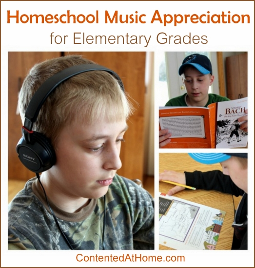 Homeschool Music Appreciation for Elementary Grades