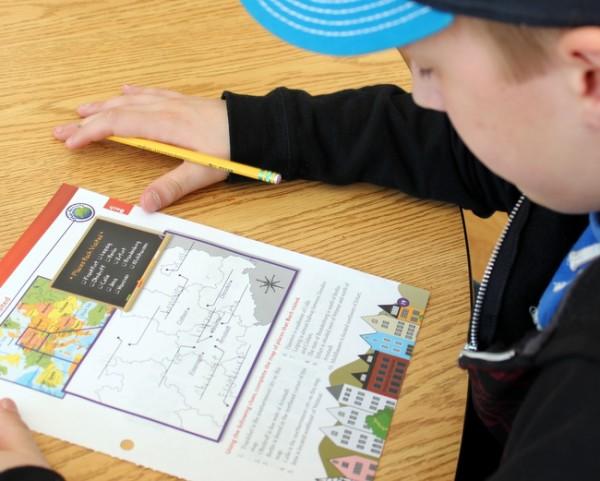 Homeschool music activity sheet