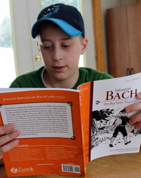 Homeschool music appreciation with the Great Musician Series